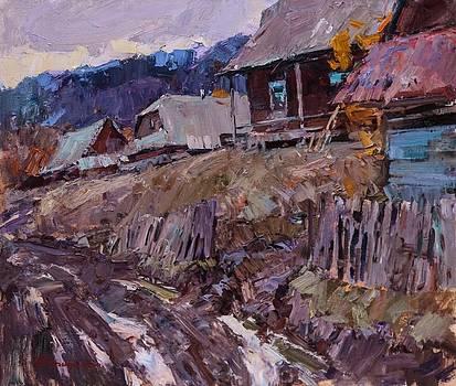 After the rain by Aleksander Kryushyn