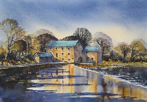 Afternoon At Mullins Mill Kilkenny by Roland Byrne