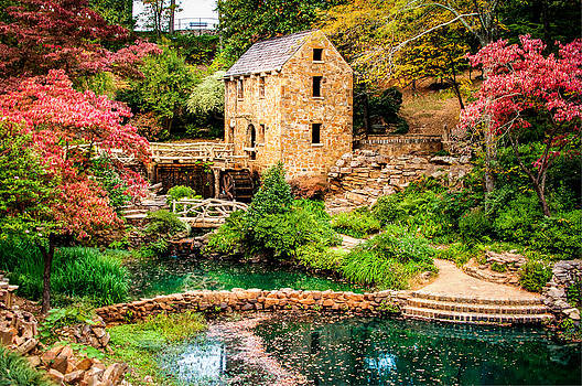 Afternoon at The Old Mill - North Little Rock Arkansas by Gregory Ballos