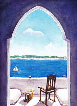 Afternoon Doorway by Raymond L Warfield jr