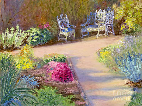Afternoon Garden by Patricia Huff