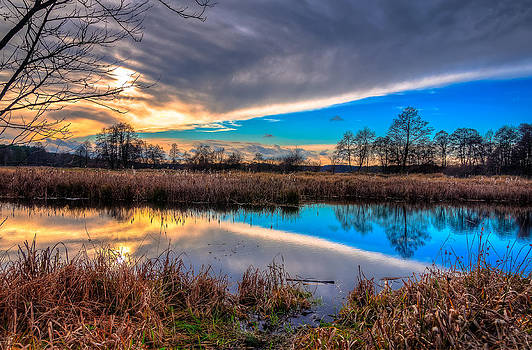 Afternoon Landscape by Michal Kabzinski