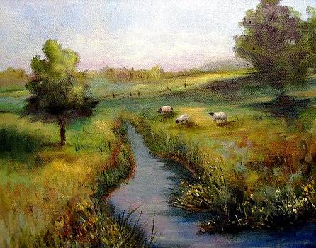 Afternoon Meadow by Alexandra Kopp