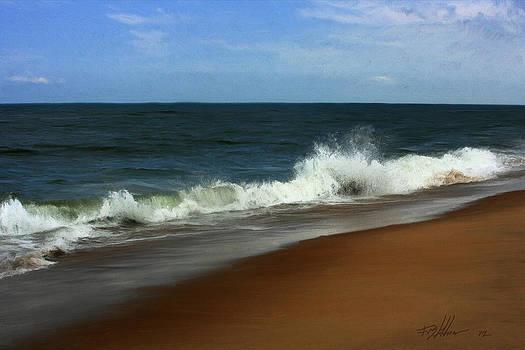 Afternoon Surf by Forest Stiltner