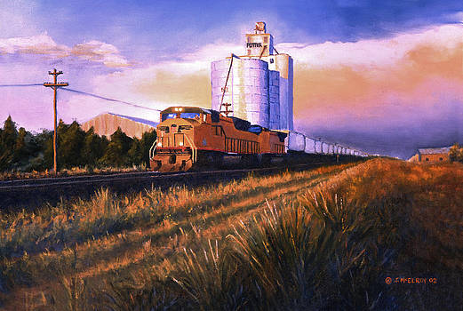 Jerry McElroy - Afternoon Train through Potter