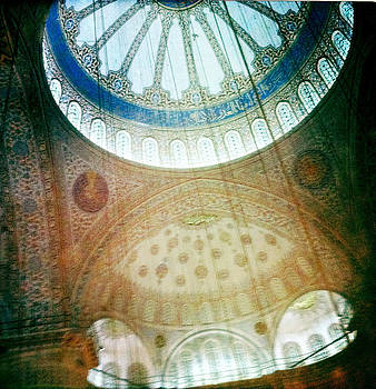 Aga Sofia Istanbul Blue by Doveen Schecter