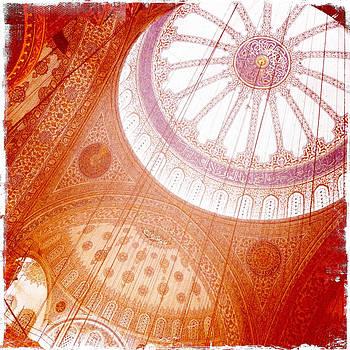 Aga Sofia Istanbul Orange by Doveen Schecter
