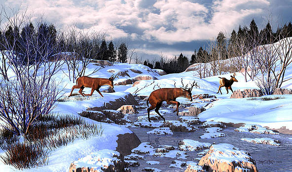 Against The Winter Chill by Dieter Carlton