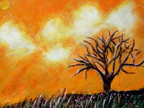 Against The Yellowing Sky by Joseph Ferguson