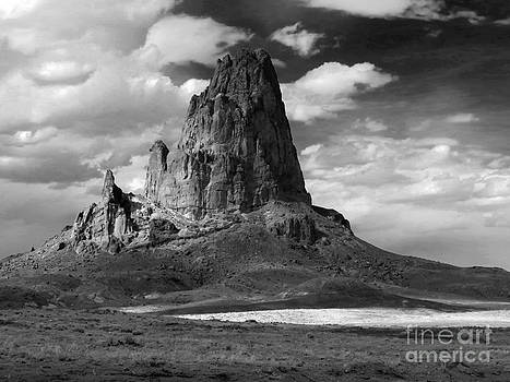 Agathla Peak by Rick Wheeler
