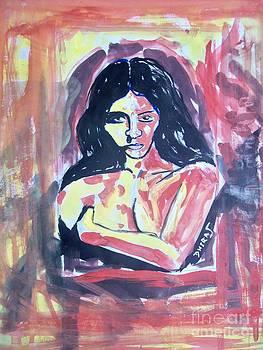 Aggressive beauty by Dhiraj Parashar