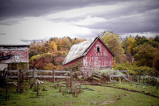 Aging Barnyard by Ray Summers Photography