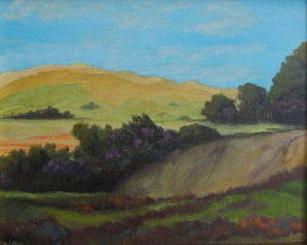 Agua Dulce View by Terry Sonntag