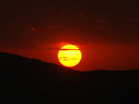 Ain Abessa Sunset by Faouzi Taleb