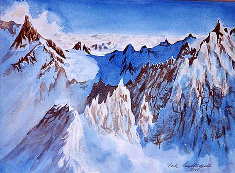 Aiquille des Chamonix  by Fritz Engelhardt