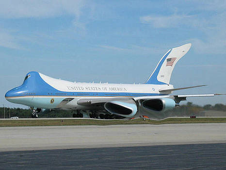 Air Force One by Photo Shirts
