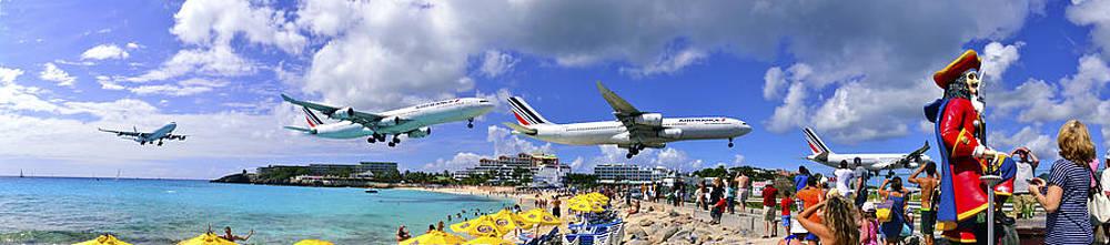 Matt Swinden - Air France Pano landing at St Maarten