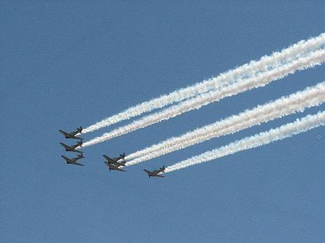 Airforce Air Show by Michelle Lawrence
