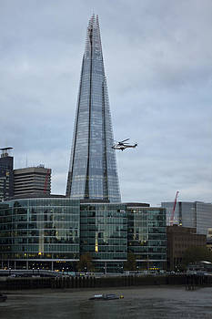 David French - Airlift Helicopter Shard