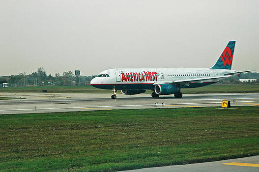 Devinder Sangha - Airplane America West