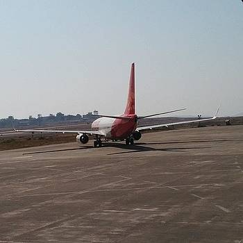 #airport #upintheair #aircraft #rear by Rachit Vats
