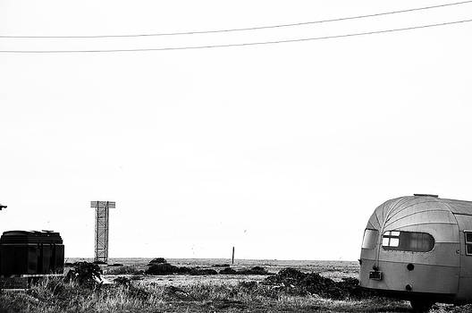 Airstream 1950s  caravan Dungeness by Quirky Jen Photos