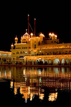 Devinder Sangha - Akal Takht at Night