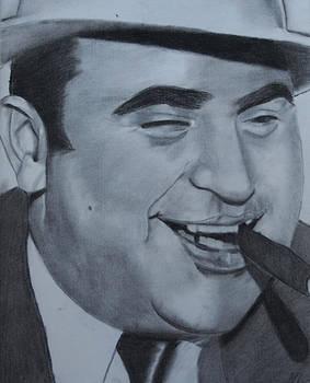 Al Capone by Aaron Balderas