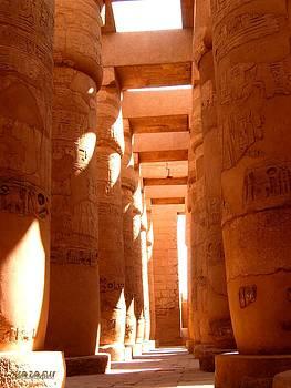 al karnak Temple 1 by Essam Ramadan