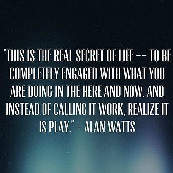 #alanwatts by Joshua Plant
