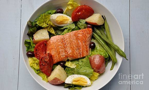 Alaska King Salmon Salad by Maureen Cavanaugh Berry
