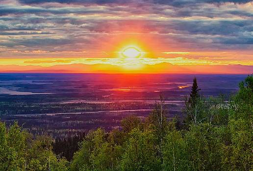 Alaska Land of the 11 PM Sun by Michael Rogers