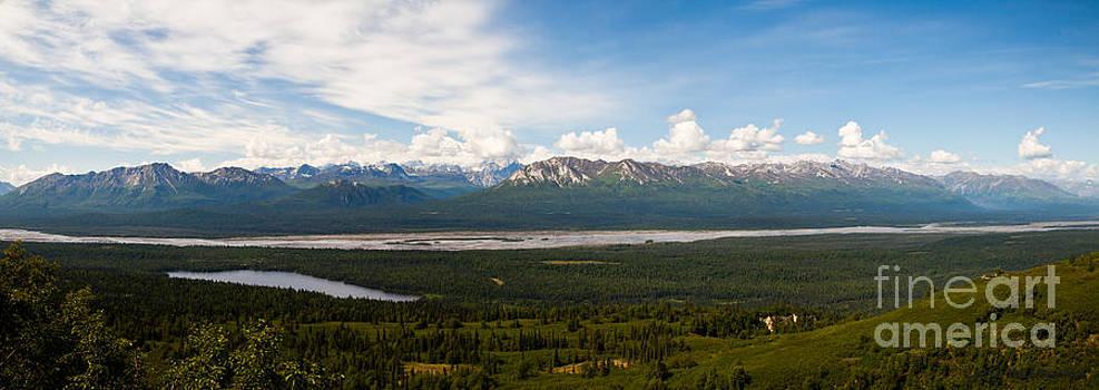 Alaska Range by Chris Heitstuman