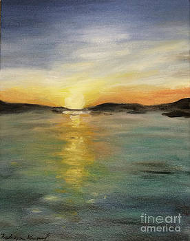 Alaskan Sunrise by Barbara Anna Knauf