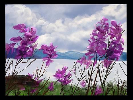 Alaskan Wild Flower by Kristina Becker