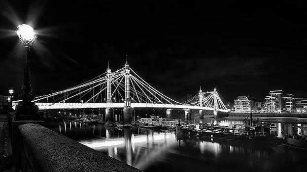 Albert Bridge London by Wayne Molyneux