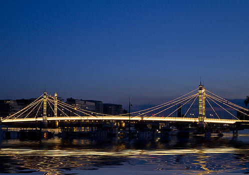 David French - Albert Bridge Thames  London