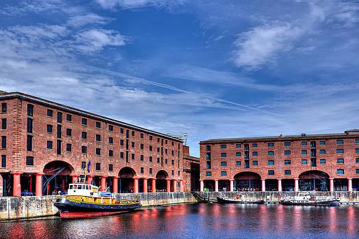 Albert Dock Liverpool by Sandra Pledger