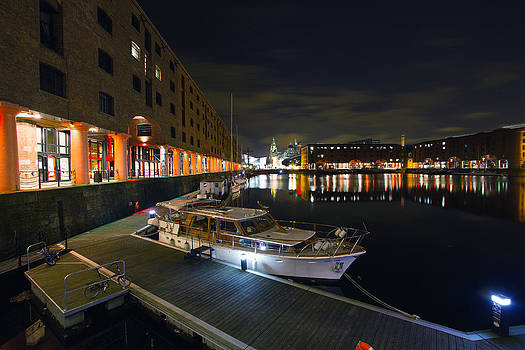 Albert Dock Liverpool by Wayne Molyneux
