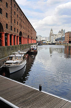 Albert Docks Liverpool by Norman Pogson