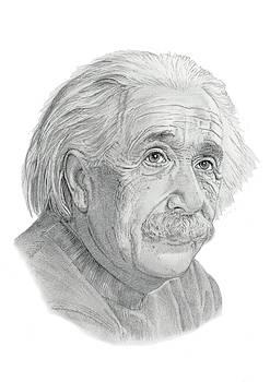 Albert Einstein by Chris Greenwood