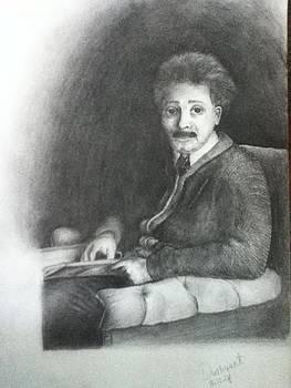 Albert Einstein by Dushyant Singh