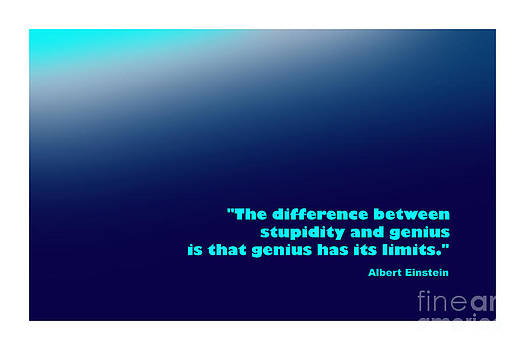 Albert Einstein Famous Quote by Enrique Cardenas-elorduy