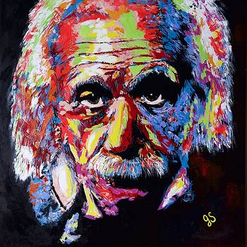 Albert Einstein by Joyce Sherwin
