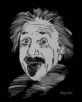 ARTIST SINGH - albert Einstein tongue