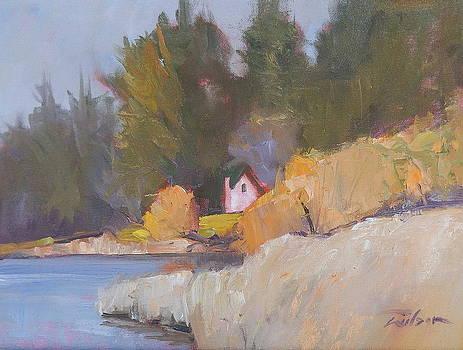 Albert Head Lagoon by Ron Wilson