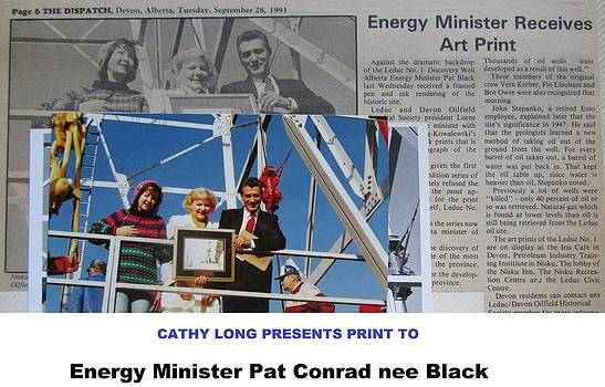 Energy Minister by Cathy Long