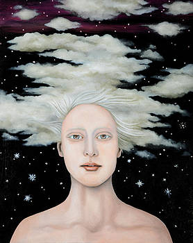 Leah Saulnier The Painting Maniac - Albino Snow