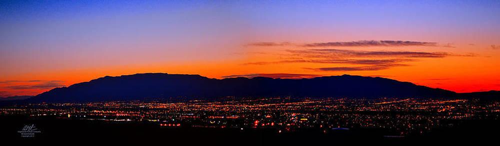 Albuquerque Dawn by Richard Estrada