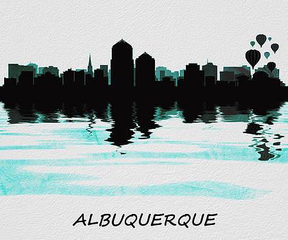 David Pringle - Albuquerque Skyline